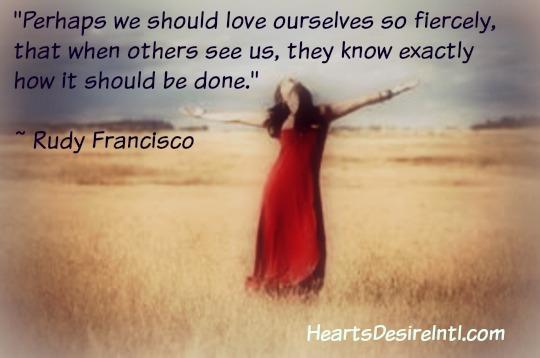 Love Yourself Fiercely!